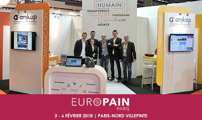 Retour participation Europain 2018