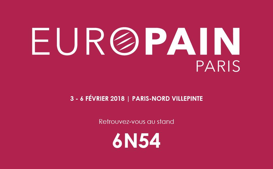 Salon Europain 2018 participation Anikop