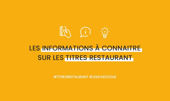 Anikop - Illustration - Les informations à connaitre sur les titres restaurant