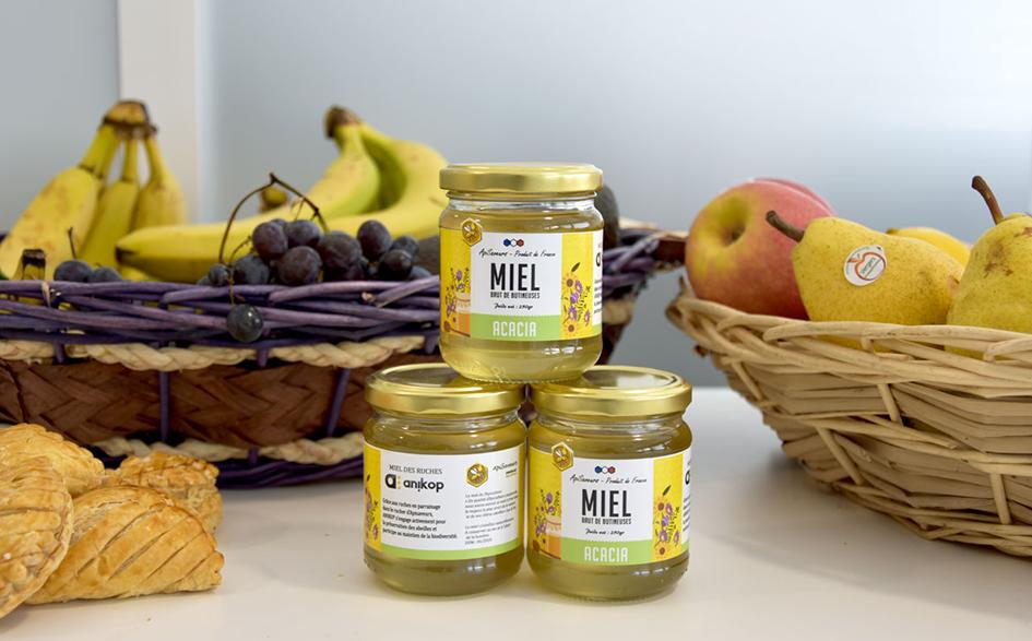 Engagement environnemental pots de miel ApiSaveurs