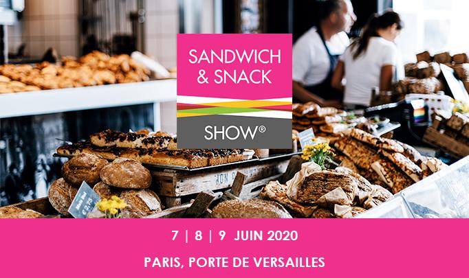 Anikop - Illustration - Anikop participe au salon Sandwich & Snack Show 2020